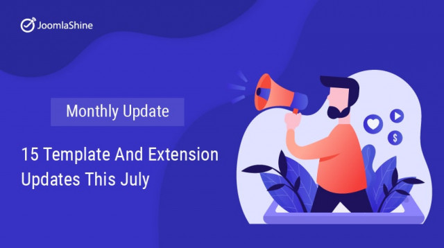 [Monthly Update] 15 Template and Extension Updates This July
