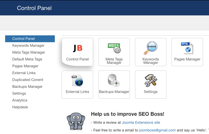 Top 12 Joomla SEO Extensions & Plugins - 2019 Review - JoomlaShine
