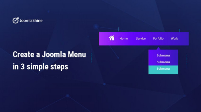 Create a Joomla Menu In 3 Simple Steps