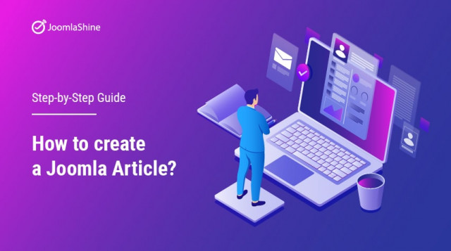 How to create a Joomla article - Step-by-step Guide