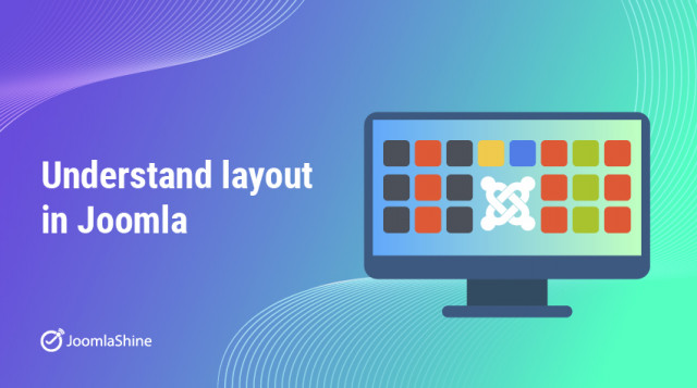 How to setup layout in Joomla?