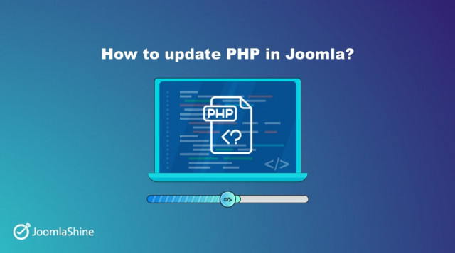 Beginner guide to update PHP in Joomla