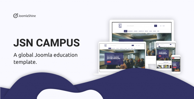 JSN Campus - All-in-one education template on Joomla