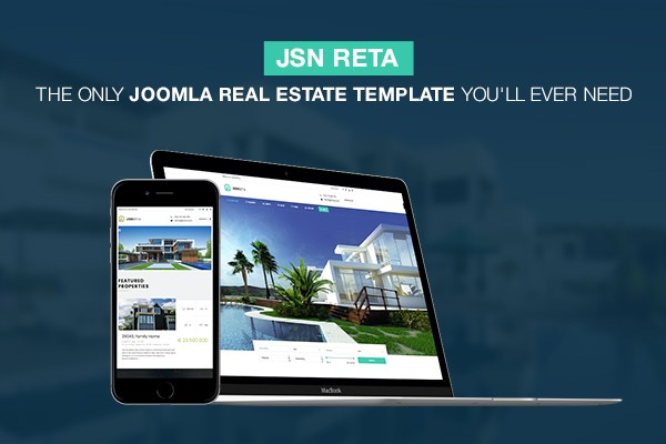 JSN Reta - Ain't no better Joomla real estate template around