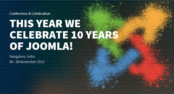 We are proud to be Joomla! World Conference sponsor! Special ticket discount inside