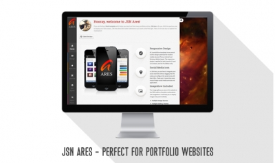 [Released] JSN Ares – A template for  your masterful portfolio website.