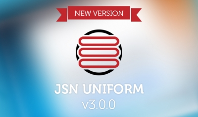 What's new in JSN UniForm version 3.0.0?