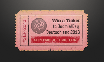 [Quick] Win an all-day ticket to Joomla! day Germany 2013 for FREE!