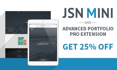 JSN Mini Release – Get 25% OFF for Mini Bundle. Chance to win 05 PRO Unlimited Product Bundles