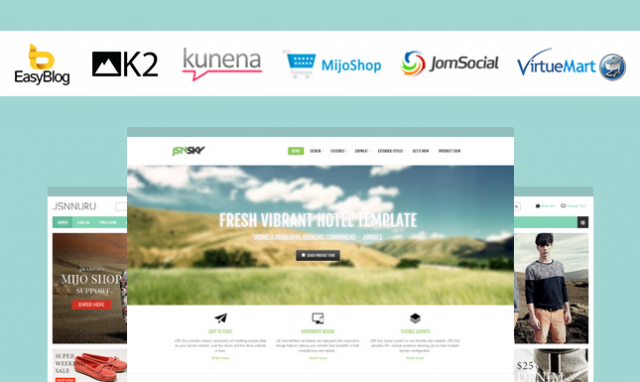 Nice JoomlaShine templates customization with popular Joomla extensions (part 2)
