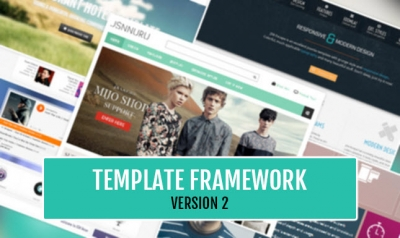 JSN Template Framework 2 - More ability to customize JoomlaShine templates quickly!