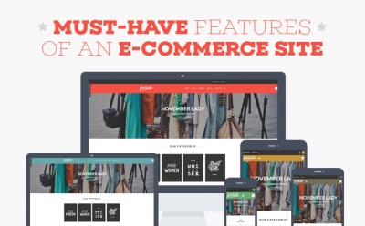 [Infographic] Must-have Features of an e-Commerce site