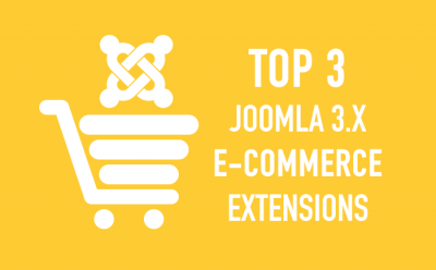 Top 3 Joomla 3.x e-Commerce extensions