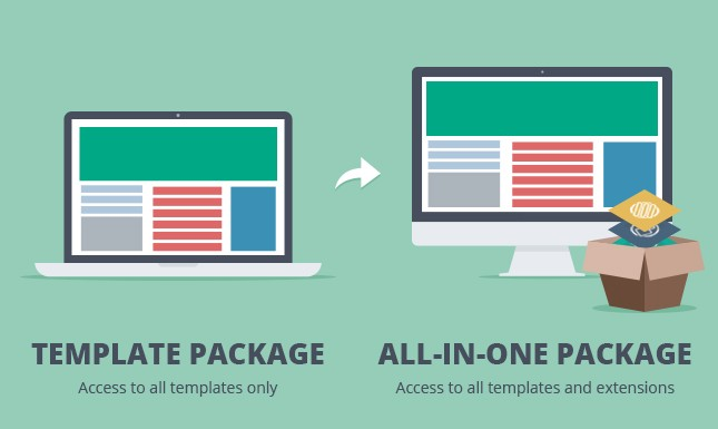 How to upgrade from Template Developer Package to All-in-one Package