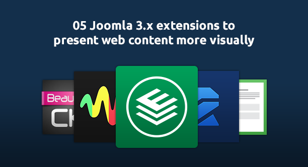 5 Joomla 3.x extensions to  present web content visually
