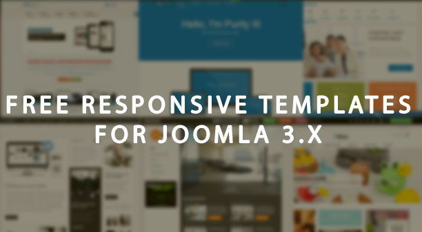 Best free responsive templates for Joomla 3.x
