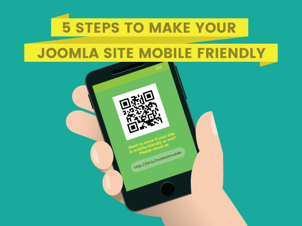 [INFOGRAPHIC] 5 steps to make your Joomla site mobile friendly