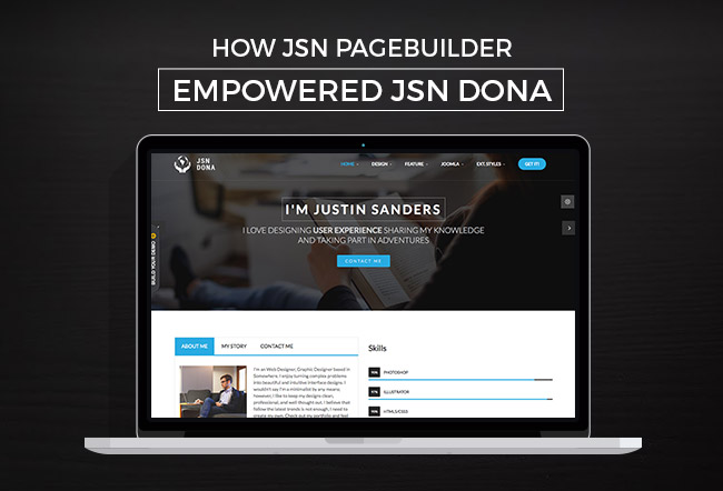 How we used JSN PageBuilder to empower JSN Dona