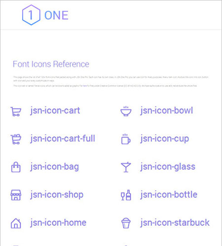 130+ Font Icons