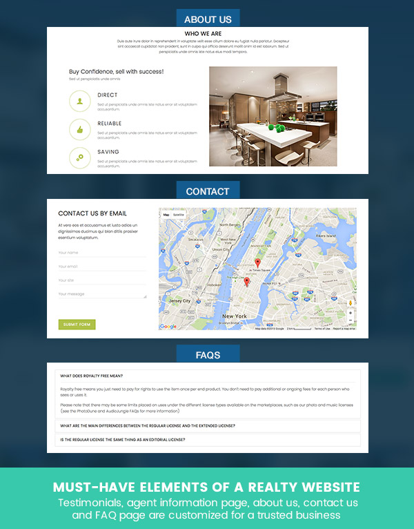 JSN Reta - Fully-fledged real estate template