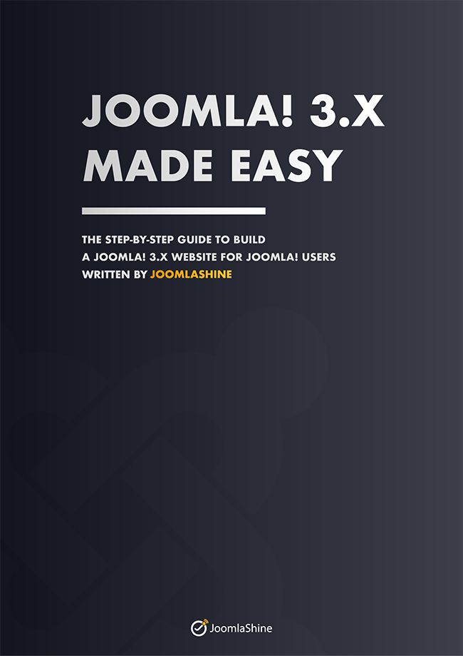 Joomla! 3.x Ebook