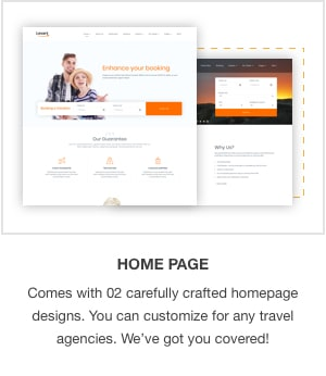 JSN Levart - A Responsive Joomla Template for Booking and Travel - 1