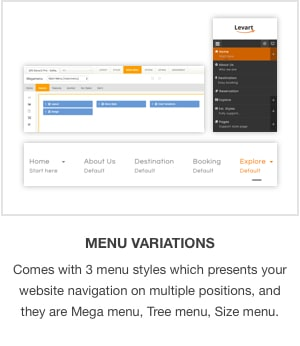 JSN Levart - A Responsive Joomla Template for Booking and Travel - 2