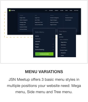 JSN MeetUp - Professional and Responsive Event Joomla Template - 2