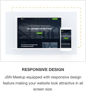 JSN MeetUp - Professional and Responsive Event Joomla Template - 7