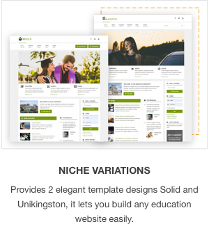 JSN Solid - A Clean & Responsive Education Template for Joomla - 1