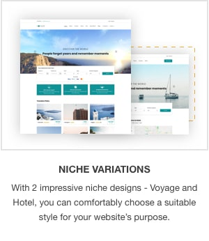 JSN Voyage - Responsive Tourism and Hotel Booking Joomla Template. - 1