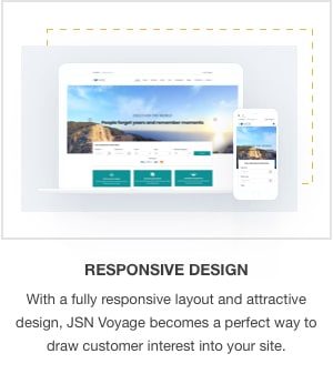 JSN Voyage - Responsive Tourism and Hotel Booking Joomla Template. - 7